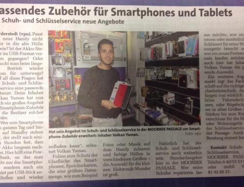 Passendes Zubehör für Smartphone und Tablets